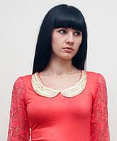 Стильная гипюровая женская блуза
