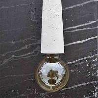 Светильник - патрон Крупный белый, фото 1