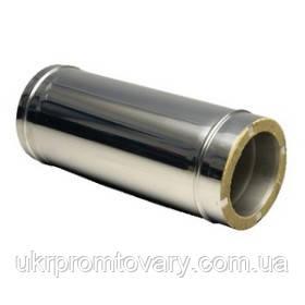 Сэндвич труба 115/200 L-1000 оцинкованная сталь +оцинкованная сталь