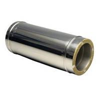 Сэндвич труба 130/200 L-1000 оцинкованная сталь +оцинкованная сталь