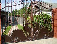 Кованные ворота 183, фото 1