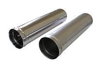 Труба сварная  из нержавеющей стали 1мм Ф100 L 1м