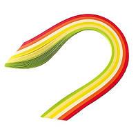 Набір паперу для квілінгу 3 мм Цитрус, 6 кольорів, 100 шт.