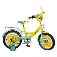 Велосипед детский двухколесный 16 дюймов Profi Спанч Боб 16д. SB164