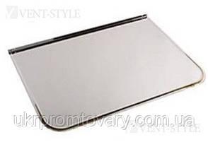 Предтопочный лист 500х700 мм напольный из  нержавеющей стали 0,5мм глянец., фото 2