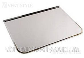 Предтопочный лист 600х800 мм напольный из полированной (зеркальной) нержавеющей стали., фото 2