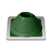Кровельная проходка №6 127-228 mm зеленый силикон для прямой кровли