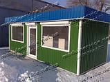 Каркасне будівництво кіосків, фото 2