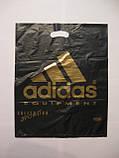 Пакет полиэтиленовый Adidas 40х50 см, 1000 шт., фото 2