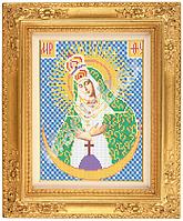 Схема для вышивки иконы «Пресвятая Богородица Остробрамская» ВШ,248х305,Габардин,Арт.Б-9 /59-0