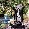 Памятник гранитный одинарный во весь рост