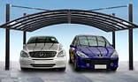 Навесы для автомобилей из поликарбоната, фото 3
