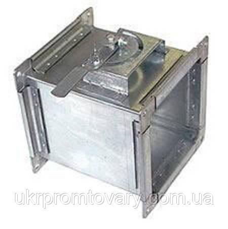 Дроссельный клапан прямоугольный ДКП 200х150 из оцинкованной стали