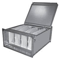 ФЛП 900х500 фильтр корпус для прямоугольных каналов для мешочных фильтров