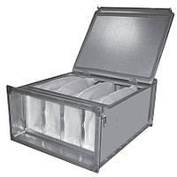 FSR (ФЛП) 400х200 фильтр корпус для прямоугольных каналов для мешочных фильтров