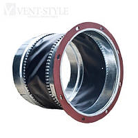 Гибкая вставка круглая диаметр 630 ниппель-фланец