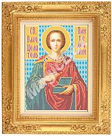 Схема для вышивки габардин «Святой Пантелеймон» ВШ,248х305,Габардин,Арт.Б-12 /59-0