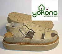 Сандали сандалі кожаные мужские ортопедические Yokono, Испания