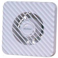 """Накладной бытовой вентилятор  """"Elplast """" ZEFIR 100WCH с таймером и датчиком влажности"""