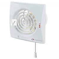 Бесшумный вентилятор Вентс Квайт 100В  (Vents 100 Quiet V) с шнурковым выключателем