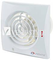 Бесшумный вентилятор Вентс 125 Квайт ТР (Vents 125 Quiet) с таймером и датчиком движения белый
