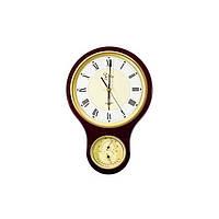 Настенные часы с термометром и гигрометром JIBO PW904