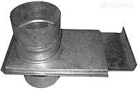 Шибер ф80 из оцинкованной стали