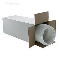 DEC PVC WHITE гибкий полимерный воздуховод  127 15м