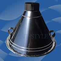 ЗОНТ ВЫТЯЖНОЙ купольный для тандыра из нержавеющей стали