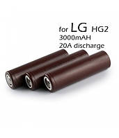 Высокотоковый аккумулятор LG INR18650HG2 3000mah 20A ORIGINAL, фото 1