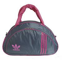 Спортивная женская сумка, среднего размера, круглые ручки 43х28х19 см, фото 1