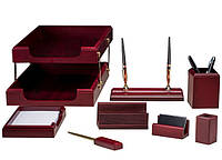 Набор настольный Bestar 8 предметов 8280 WDM, красное дерево