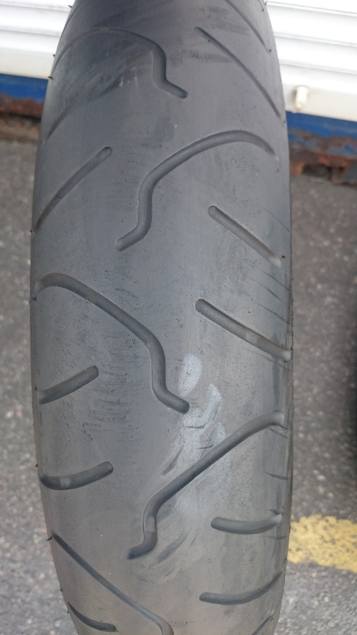 Мото-шина б\у: 120/70R17 Bridgestone Battlax BT014F