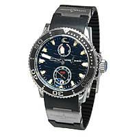 Мужские часы Ulysse Nardin Marine -  серебристые с черным