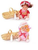 Кукла в корзине