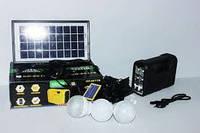 Портативная аккумуляторная система GDLite GD-8017B с солнечной панелью