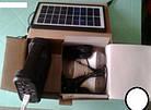 Портативная аккумуляторная система GDLite GD-8017B с солнечной панелью, фото 3