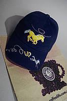 Тёмно-синяя кепка