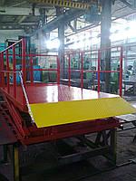 Подъемник ножничный Docker гидравлический 2500х1500мм, ход 1,6м 1т
