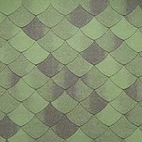 """Битумная черепица Tegola """"Версаль"""" зеленый смеральдо"""
