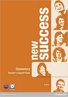 New Success Elementary Teacher's Book & DVD-ROM Pack (книга для учителя+DVD)