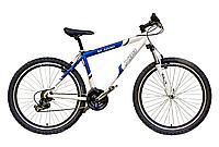 """Велосипед горный многоскоростной 26""""  М1030  ХВЗ (рама 17"""") Бело-синий"""