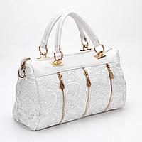 Стильная Женская сумка с кружевами