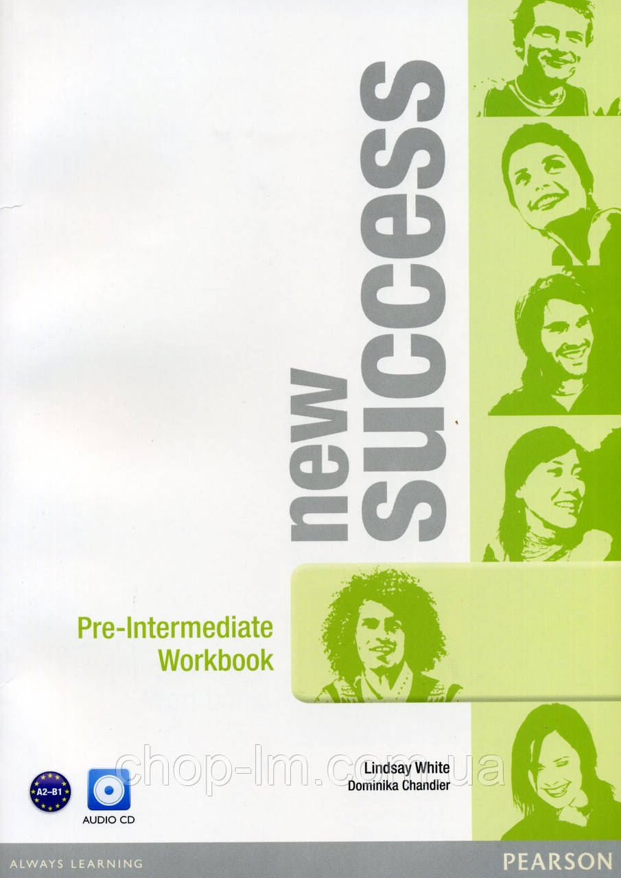 New Success Pre-Intermediate Workbook & Audio CD Pack (рабочая тетрадь)