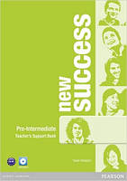 New Success Pre-Intermediate Teacher's Book & DVD-ROM Pack (книга для учителя+DVD)
