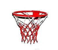 Кольцо баскетбольное №5 + Сетка (Комплект ЛЮБИТЕЛЬ)