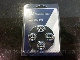 Колпачки насадки на ниппеля дисков Mercedes GLK GLK-Class X204 2008-15 новые оригинал