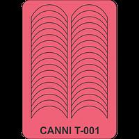 Трафарет Canni T-001