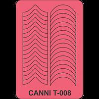 Трафарет Canni T-008