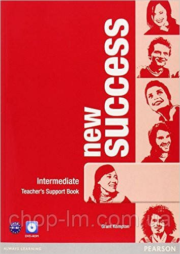 New Success Intermediate Teacher's Book & DVD-ROM Pack (книга для учителя+DVD)
